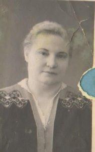 Первый директор школы Загрядская Екатерина Кирилловна